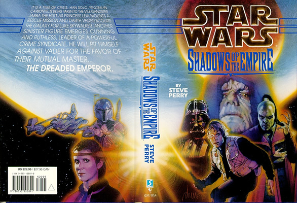 Shadows of the Empire book