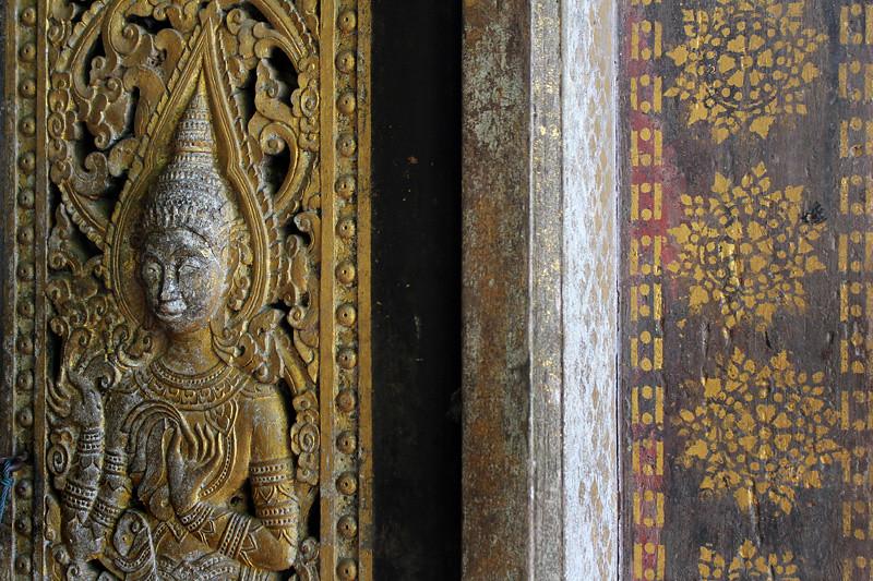 Temple decoration, Luang Prabang