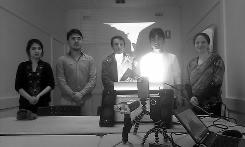 Potential participants from Afghan Hazara community meeting at Dandenong Community Arts Centre