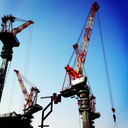 ( ^ω^)おっ、今日は大物が釣れたかな? #Osaka #Abeno #afternoon