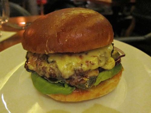 Hawksmoor Hamburger