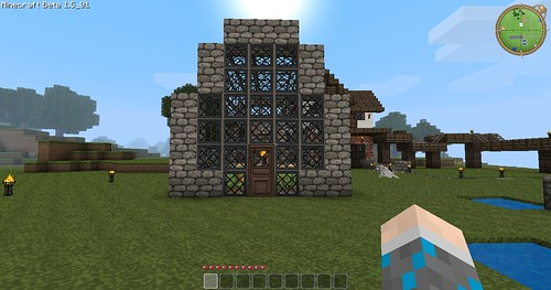 Minecraft - Greenhouse Outside