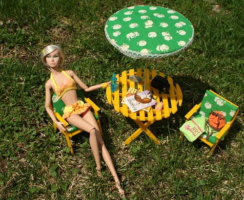 Poppy Gets Some Sun
