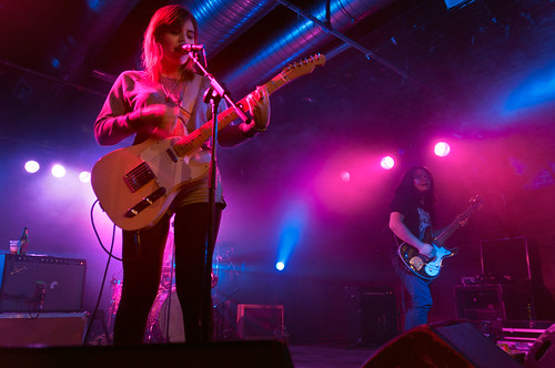 Bethany Cosentino from Best Coast at the Arches, Glasgow