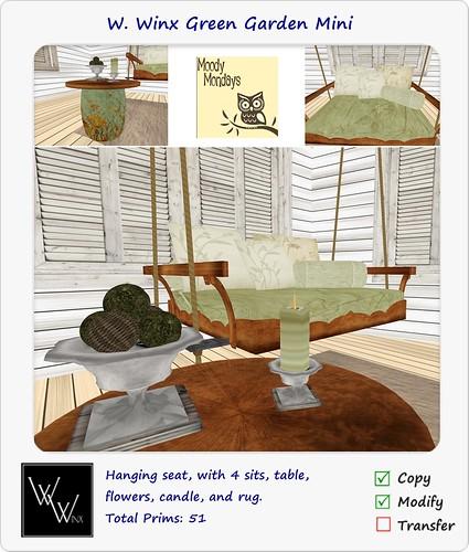W. Winx Green Garden Mini - Moody Monday