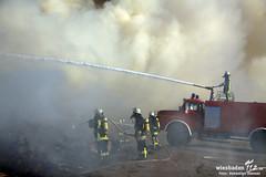 Großbrand Entsorgungsbetrieb Mainz 02.06.11