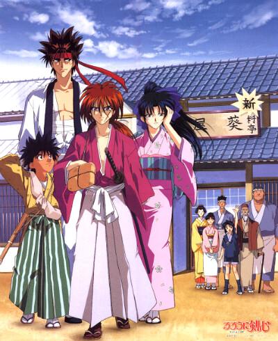 New Rurouni Kenshin Anime