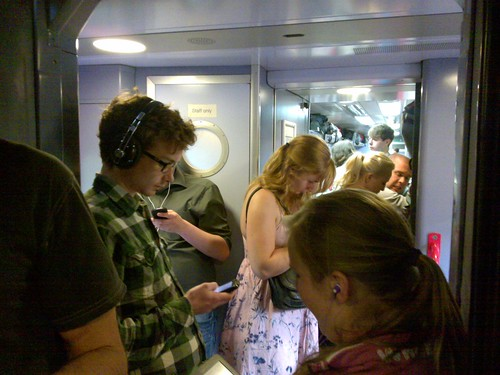 Busy train!