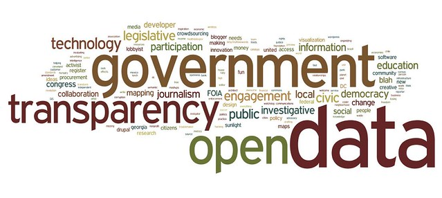 Transparency Camp 2011 Wordle
