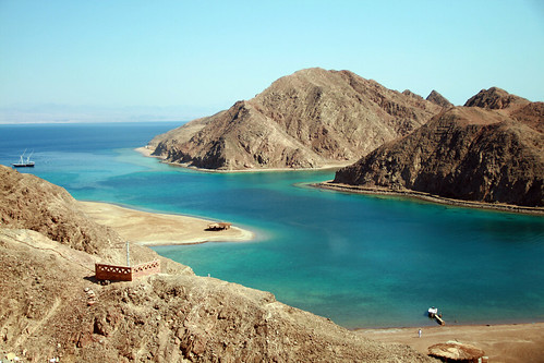 The Fjord in Taba, Egypt