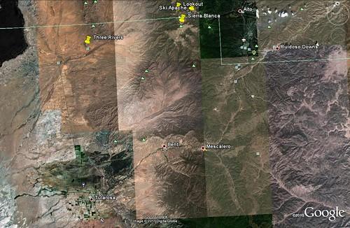 three rivers map
