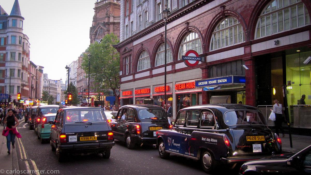 Leicester Square Underground