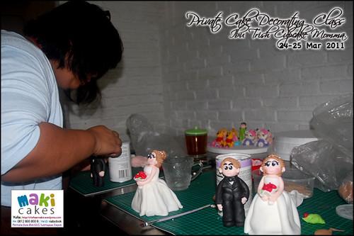 Kursus Birthday Cake- Ibu Trish Cupcake Momma_ - at Maki Cakes