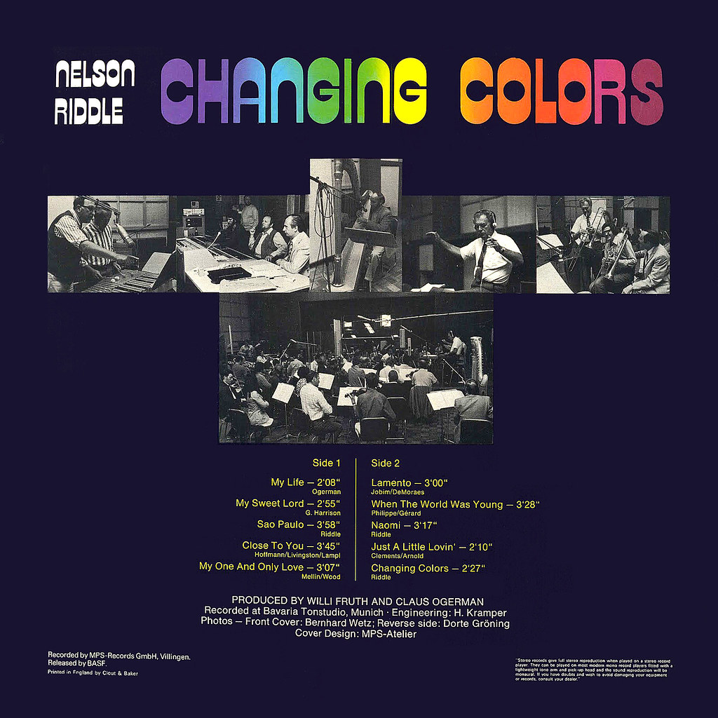 Nelson Riddle - Changing Colors