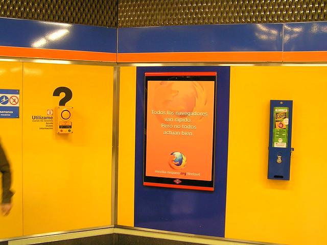 Publicidad de Firefox en Metro