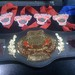Belt and Medals i won at Grapplersquest World Series of Grappling