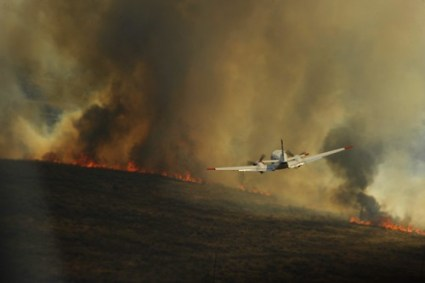 Texas Wildfires [Image 6 of 9]