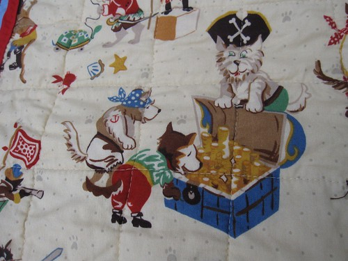 Treasure Map Play Quilt (2/6)