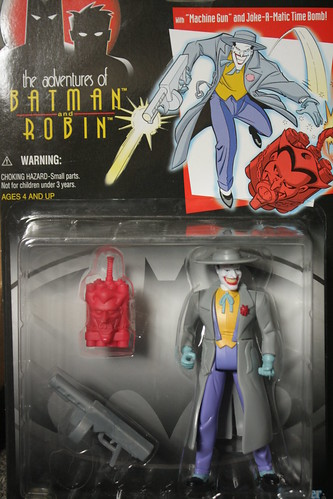 Bat-inventory- The Adventures of Batman and Robin- Trenchcoat Joker Figure