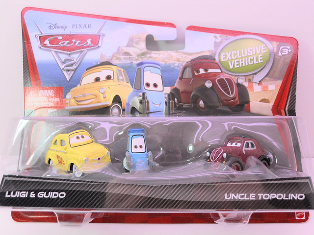 disney cars 2 movie doubles race team luigi and guido and uncle topolino (1)