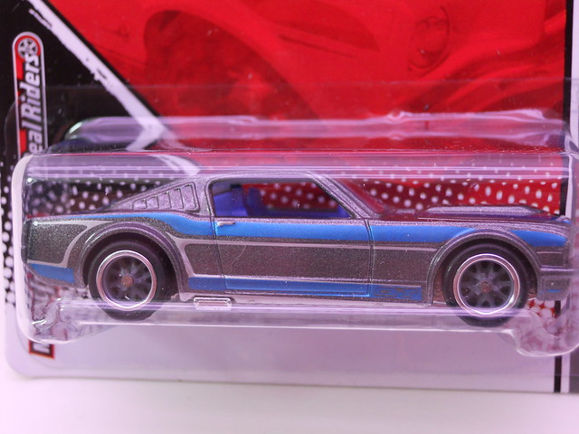 hot wheels garage '65 ford mustang fastback bluegry (2)
