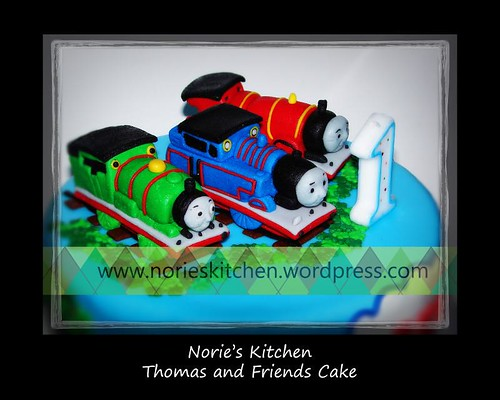 Norie's Kitchen - Thomas and Friends Cake Toppers