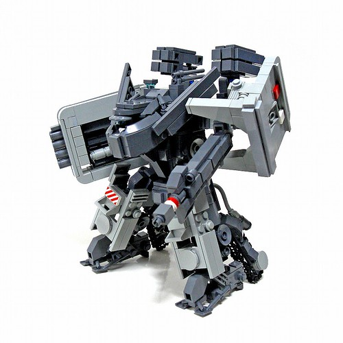 LEGO Izzo heavy fire mecha