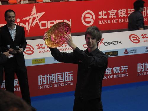 Judd Trump, Winner of China Open 2011