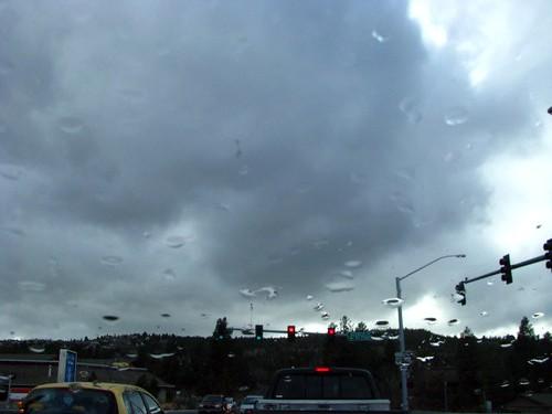 Cloudy...rainy
