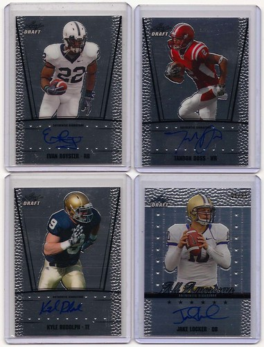 2011 Leaf Metal Draft