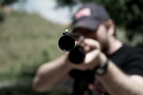 Barrel of a Gun by MatthewOsbornePhotography