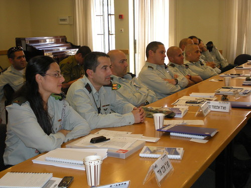 Symposium Regarding Ethics During Warfare Given to IDF Commanders