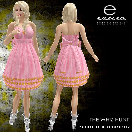 + ezura Xue + The Whiz Hunt Gift