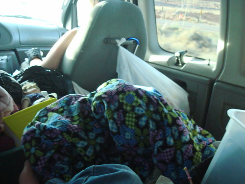 View from the Backseat (we got a little more organized as we went along)