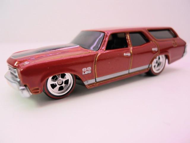 hot wheels garage orange '70 chevelle ss wagon (2)