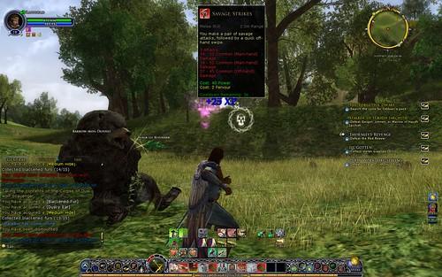 Combat Screen Shot 002