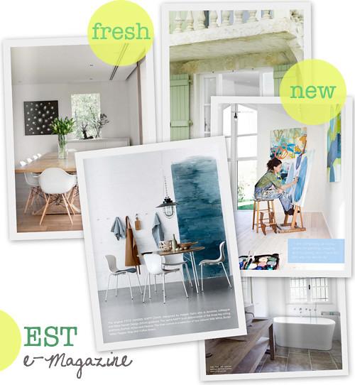 Est Magazine: Gorgeous New e-Magazine