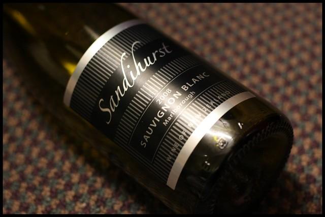 Sandihurst Sauvignon Blanc 2008