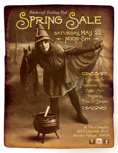 Bitchcraft Trading Post Spring Sale by Michael C. Hsiung