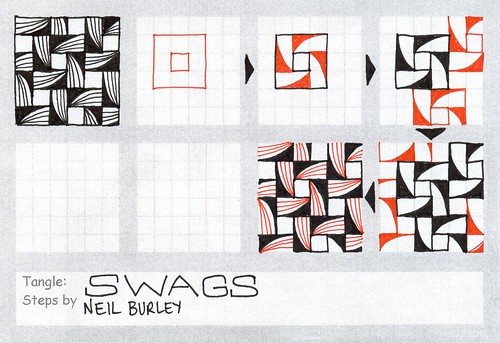 Swags - tangle pattern by perfectly4med