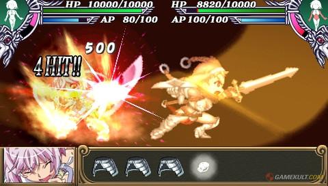 Queen's Blade : Spiral Chaos - attack 7