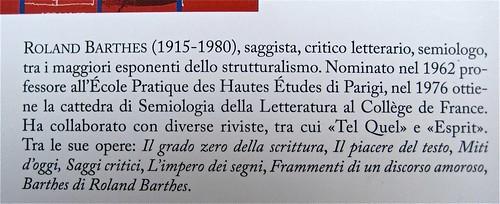 """Roland Barthes, I carnet del viaggio in Cina, ObarraO edizioni 2010; [resp. grafica non indicata], alla cop.: """"Paolo Ferrari, Raddoppio su-figura, 2010; q. di cop. (part.), 1"""