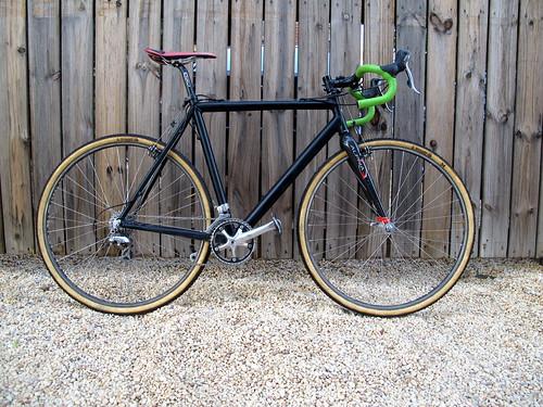 Eric's new crossbike