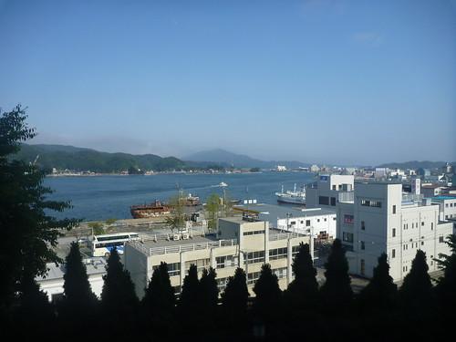 気仙沼プラザホテル, 気仙沼でボランティア Vounteer at Kessennuma, Deeply Damaged Area by the Tsunami of Japan Quake