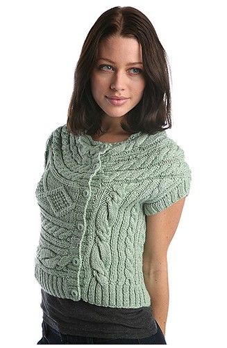 front view cable shrug