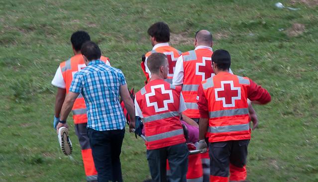 Cruz Roja en Valonsadero