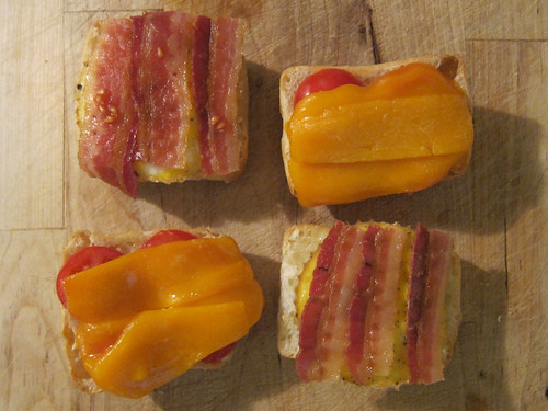 Mini Eggwiches: Partially Assembled/Toasted