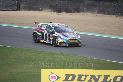Mat Jackson during the BTCC Brands Hatch Finale Weekend October 2016