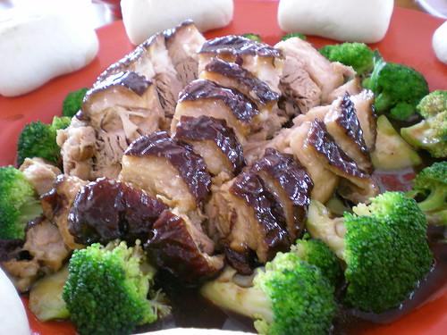 SweetFamily braised pork belly
