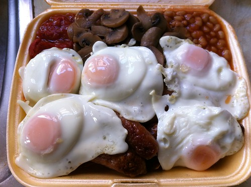 Full English Breakfast - Takeaway version